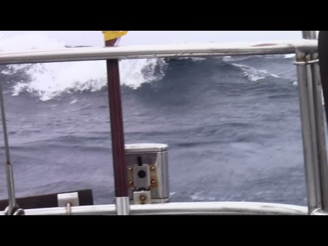 Gale warnings all areas, the waters of wild Biscay
