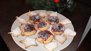 Простые и вкусные печенья с вареньем !!!