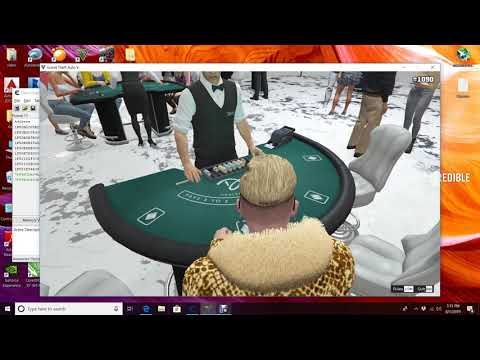 GTA 5 ONLINE INDONESIA///cara cheat gta 5 online casino ( how to hack gta 5 online casino dlc)