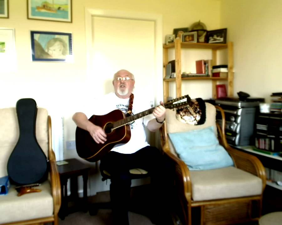 12 String Guitar The Happy Wanderer Including Lyrics And Chords