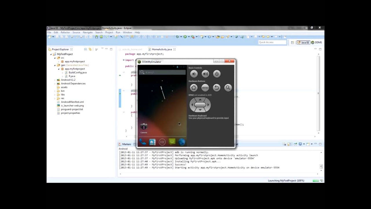 set action listener android