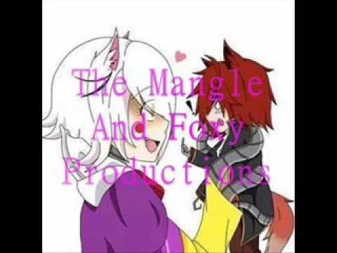 Freddy x Mangle and Foxy x Mangle
