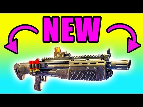 NEW Heavy Shotgun Gameplay 🔥 Fortnite Battle Royale NEW Heavy Shotgun PC Gameplay & Tips