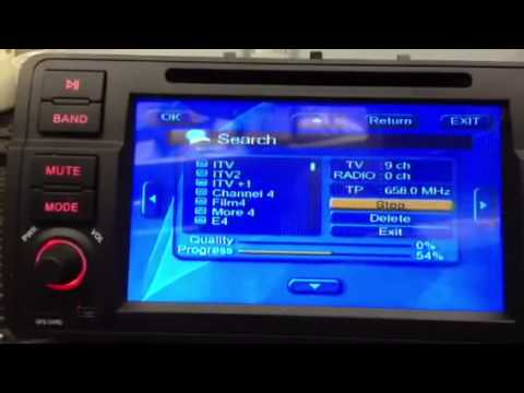 Setting Up DVB-TV Digital (freeview) Tuning TV on Navall 2 Android Head Units