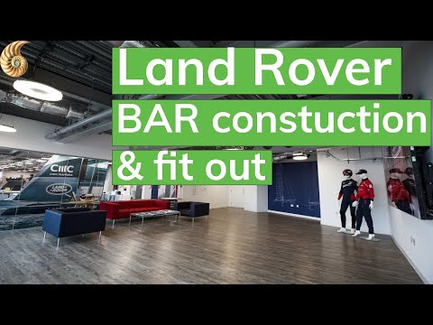 Land Rover BAR Time Lapse