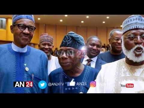 AFTER HIS LETTER, OBASANJO MEETS, BANTERS WITH PRESIDENT BUHARI IN ADDIS ABABA, ETHIOPIA