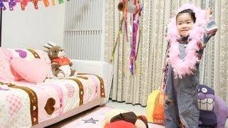 2012/11/11 【Y:1歳0ヶ月/R:3歳5ヶ月】 あーちゃん..(笑)