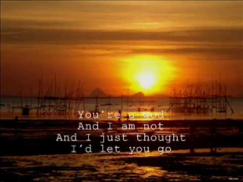 you're a god by vertical horizon [with lyrics]