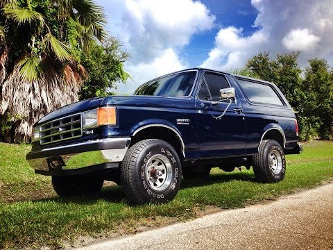 Ford Bronco American Dreams Restoration