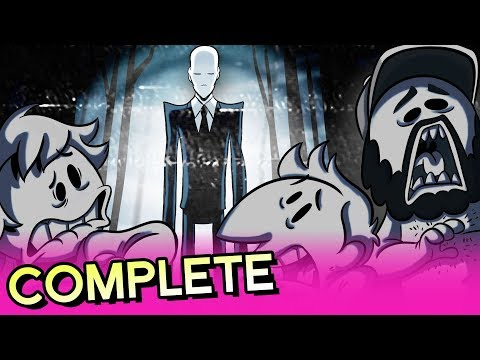 Oney Plays Slender The Arrival (Complete Series)