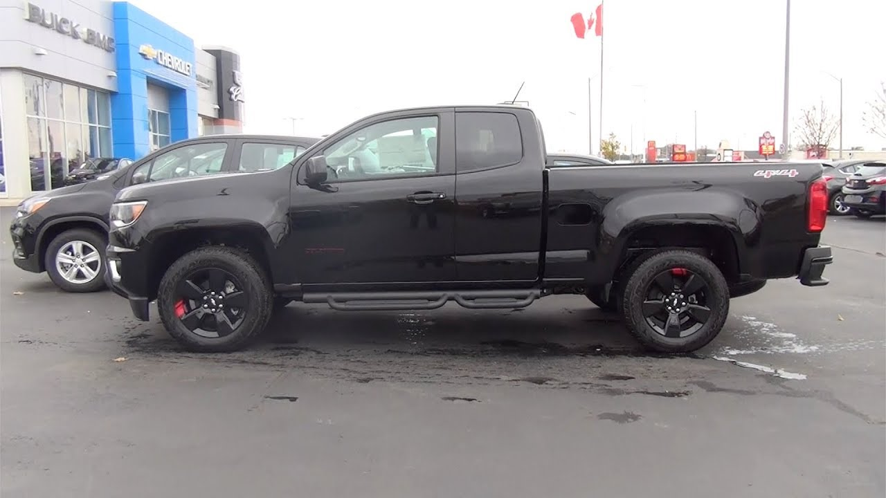 2018 Chevrolet Colorado Extended Cab Long Box 4 Wheel Drive Lt Redline
