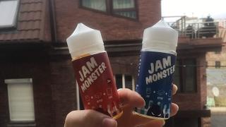 Жижка JAM MONSTER//да, да, тосты с джемом, просто огонь...