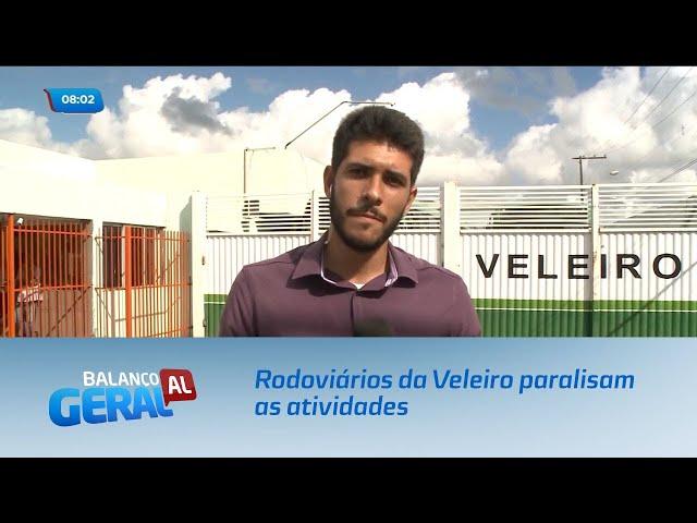 Rodoviários da empresa Veleiro voltam a paralisar parcialmente as atividades