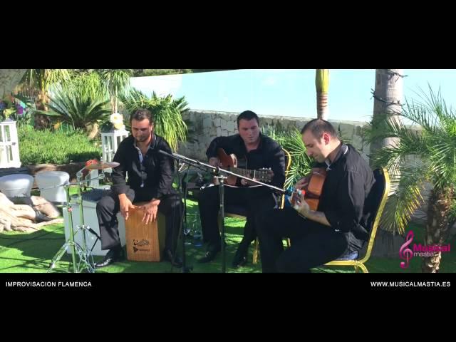Improvisación Flamenca - RESTAURANTE ROSARITO - SANTA CRUZ Musical Mastia Wedding