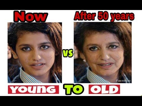 Make yourself old online
