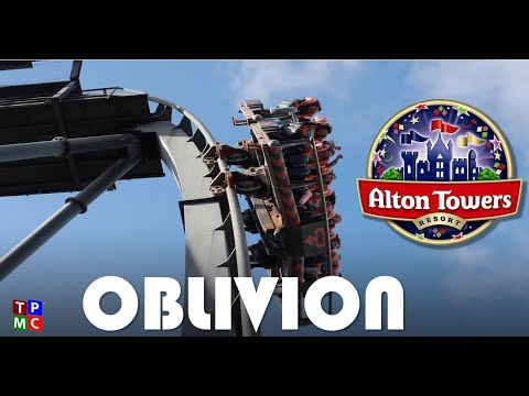 Alton Towers - OBLIVION off ride - BEST QUALITY - Top One Scarefest 2011
