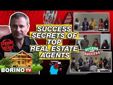 Success Secrets Of Top Real Estate Agents