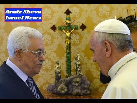 "POPE ""Recognizes"" Muslim TERRORISTS ....but NOT ISRAEL :: (*Mideast News/May 2014)"