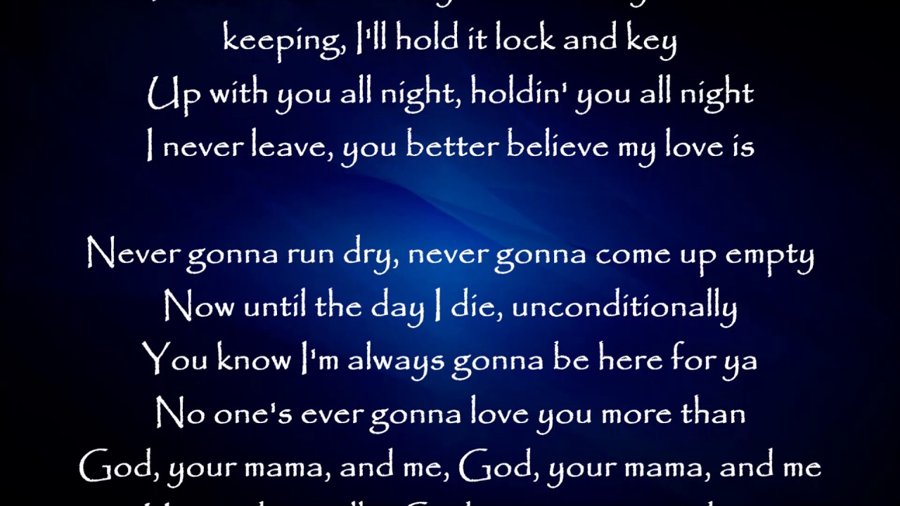 God, Your Mama, and Me - Florida Georgia Line ft. The Backstreet Boys Lyrics #1