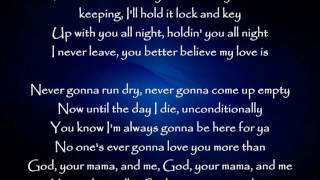 God, Your Mama, and Me - Florida Georgia Line ft. The Backstreet Boys Lyrics Video