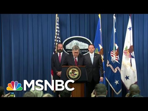 'A Fool': MAGA Fans Turn On Barr After Debunking Trump's Fraud | The Beat With Ari Melber | MSNBC