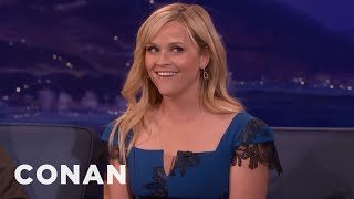 Reese Witherspoon Just Found Out She's Irish  - CONAN on TBS
