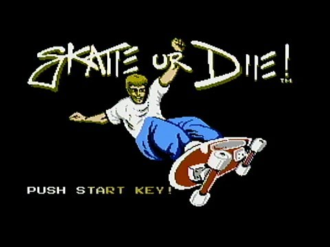 Skate or Die - NES Gameplay