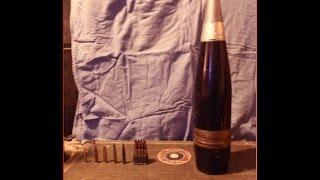 120mm / 4.7 inch artillery shell