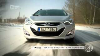 Test Hyundai i40 смотреть