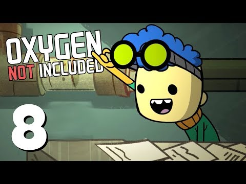 Tons of Food! - Ep. 8 - ONI Oil Update! - Let's Play Oxygen Not Included Gameplay