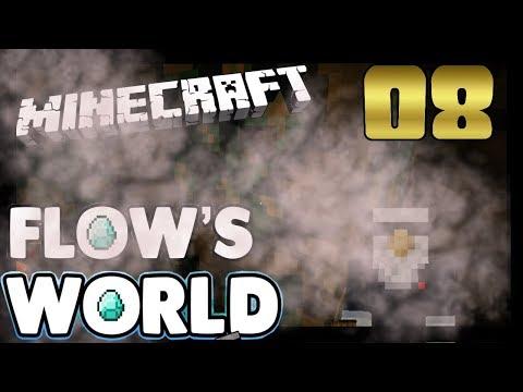 Minecraft: Flows World - Episode 08 - Mining Is Easy Minecraft 1.12 Singleplayer