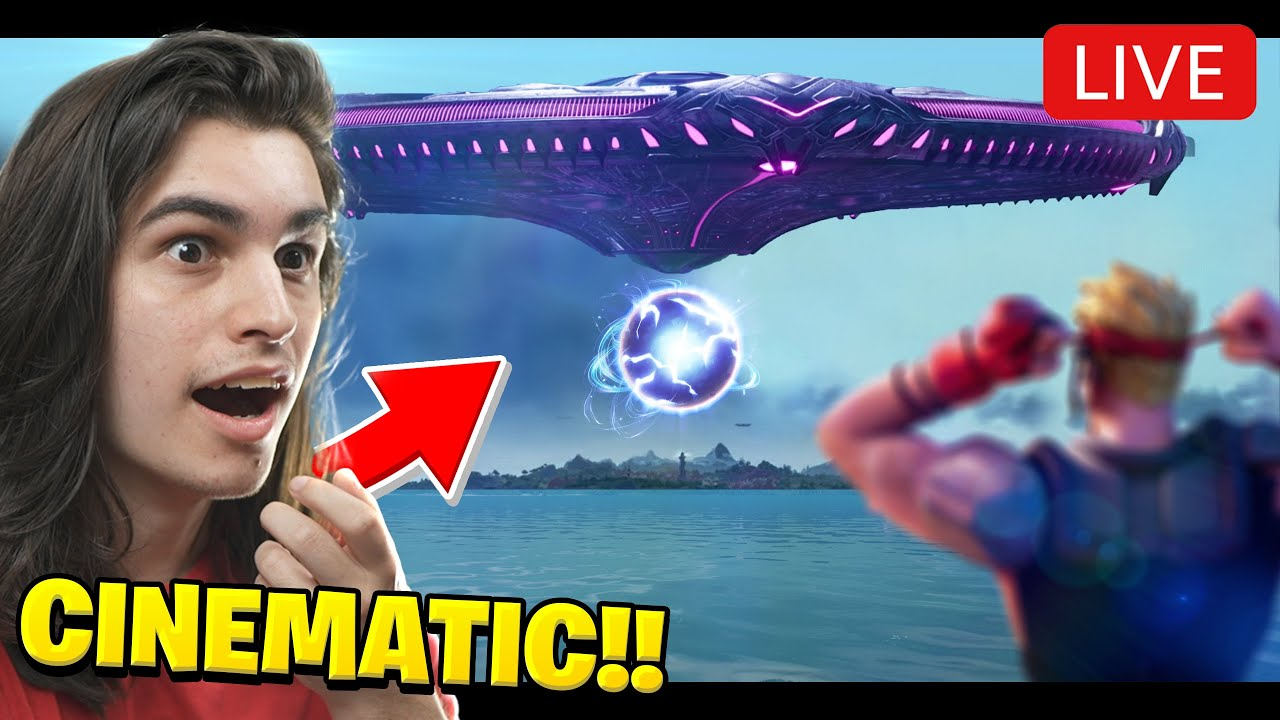 THE FORTNITE ALIEN EVENT HAD WHAT!?? (KEVIN RETURNS)