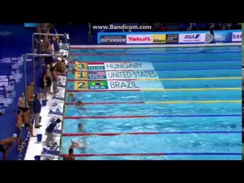 A férfi 4x100 váltó bronzérme