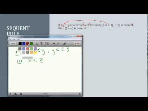3 What is a sequent?