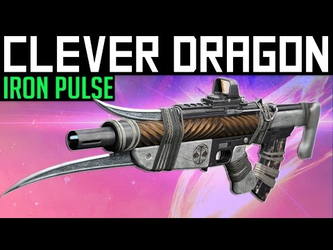 Destiny | THE CLEVER DRAGON! - PvP Gameplay & Review (Iron Banner Pulse Rifle)