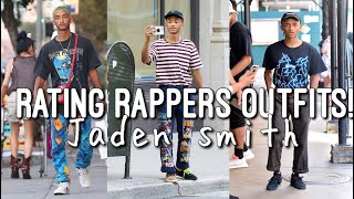 Rating Rappers Outfits - Jaden Smith