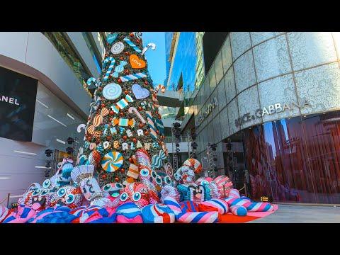 [4K] EmQuartier (เอ็มควอเทียร์) Phrom Phong - Luxury Shopping Mall in Bangkok, Thailand