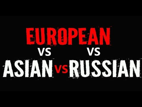 ✔ Difference Between Europe, Asia and Russia