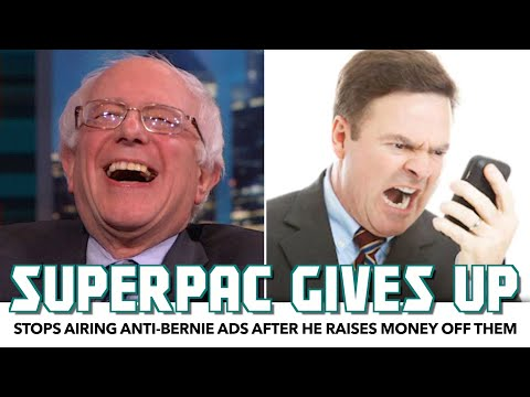 SuperPAC Stops Airing Anti-Bernie Ads After He Raises Money Off Them