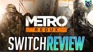 Metro Redux Switch Review - 2033 & Last Light = Double Delight! (Video Game Video Review)
