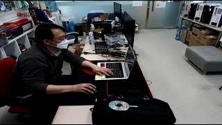 2021 02 08 노트북 수리와 펜티엄 기본사무용 조…