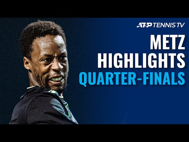Hurkacz Battles Murray; Carreño Busta, Monfils, Rune In Action | Metz 2021 Highlights Quarter-Finals