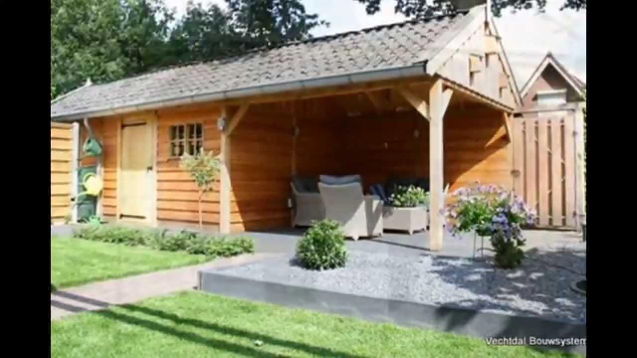 Houten tuinhuis met veranda youtube - Beelden van verandas ...