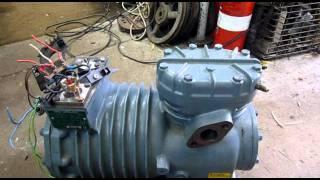 DWM Copeland Semi-Hermetic Compressor Testing