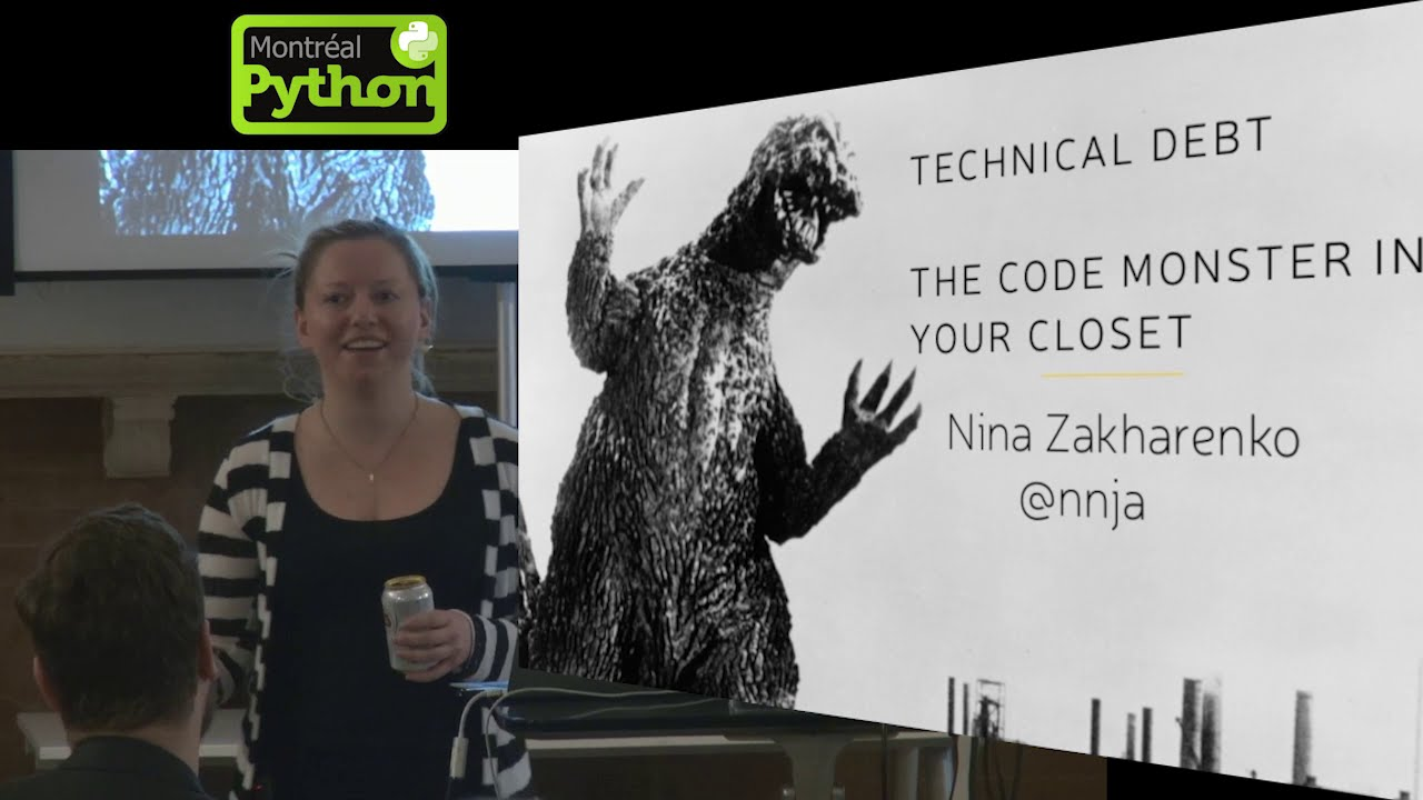 Image from Technical Debt - The code monster in everyone's closet