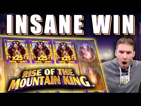 INSANE WIN On Rise Of The Mountain King Slot - £3 Bet