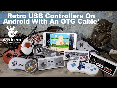 Retro Gaming On Android Tablet With OTG Cable: We Test | We Deem