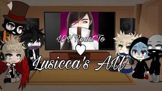 ❦Lov React to Lusicca's AU | Original? | Part 2
