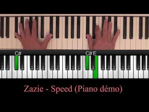Zazie - Speed (Piano Cover Tutoriel)