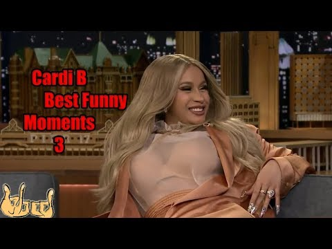 CARDI B Best Funny Moments, Sounds and Interviews